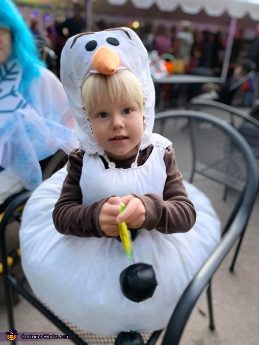 Some people are worth melting for, Olaf from Frozen Costume