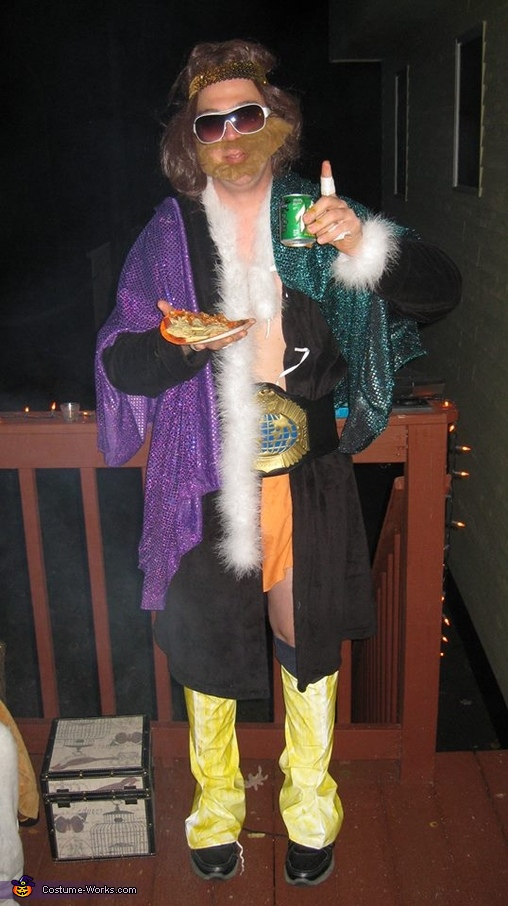 Old-School Macho Man Randy Savage - Homemade costumes for men