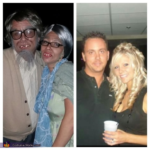 before and after, Old Couple Costume