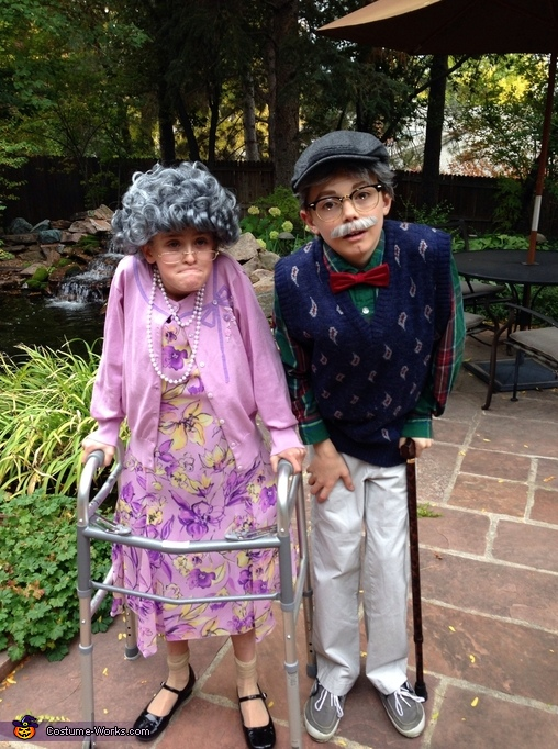 Old Couple Costume