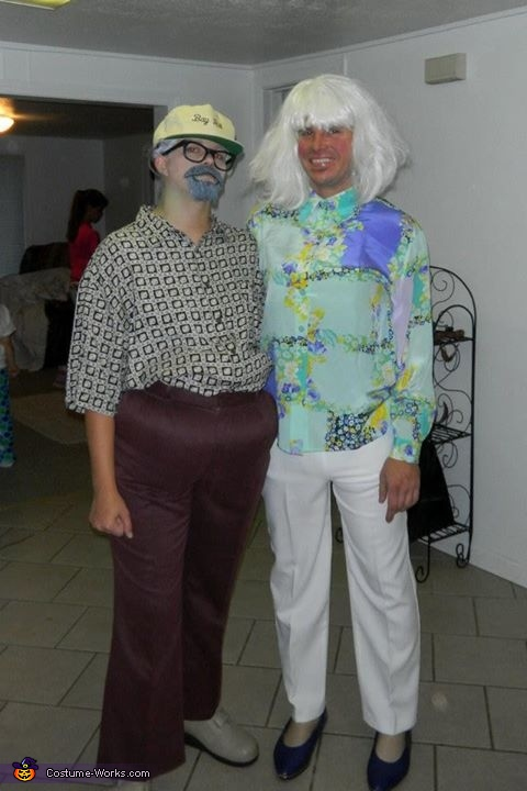 Old Folks Couple's Costume