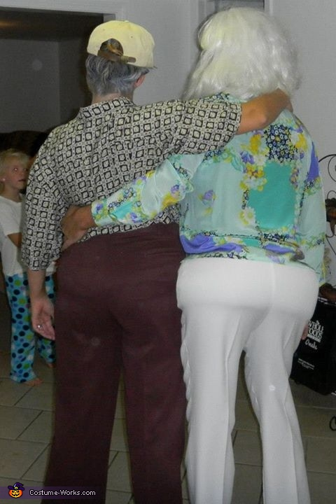 A little junk in the trunk ;-), Old Folks Couple's Costume