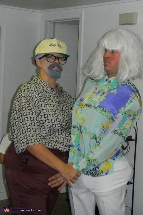 Old Folks Homemade Costume