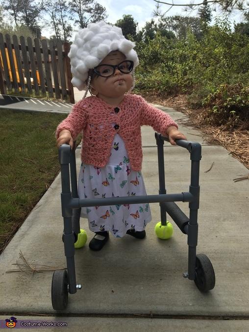 Old Grandma Costume