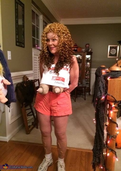 Old Hooters Girl Costume