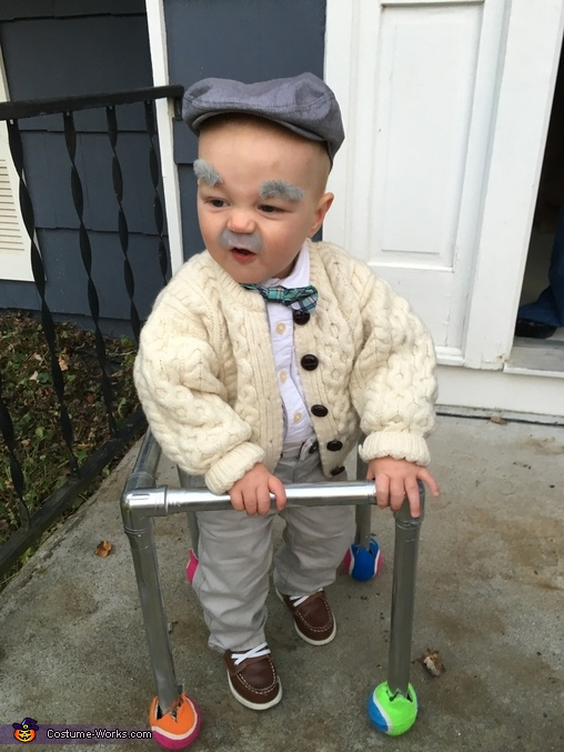 Old Irish Man Homemade Costume