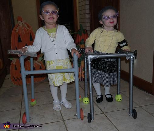 Old Ladies Costume