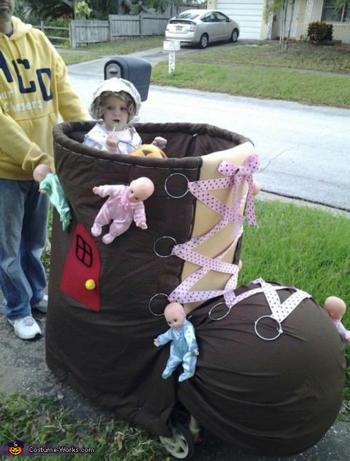 Old Lady who lived in a Shoe Costume