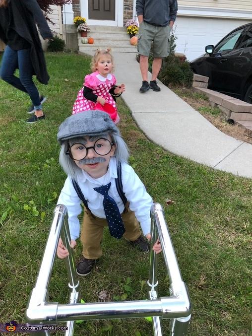 Old Man Homemade Costume