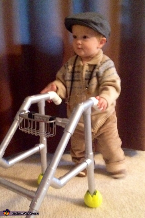 Old Man Baby Costume