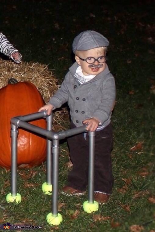 Old Man Charlie Baby Costume