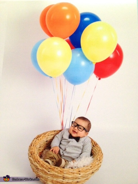 Old Man from the movie Up Baby Costume