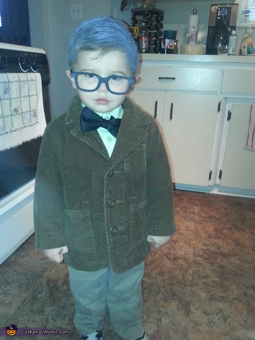 Old Man from UP Homemade Costume
