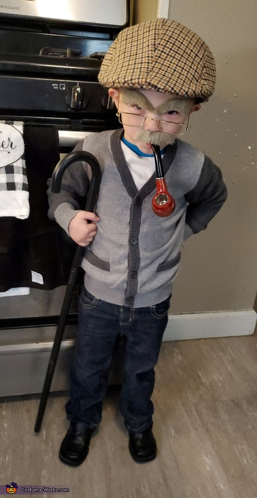 Old Man Max Costume