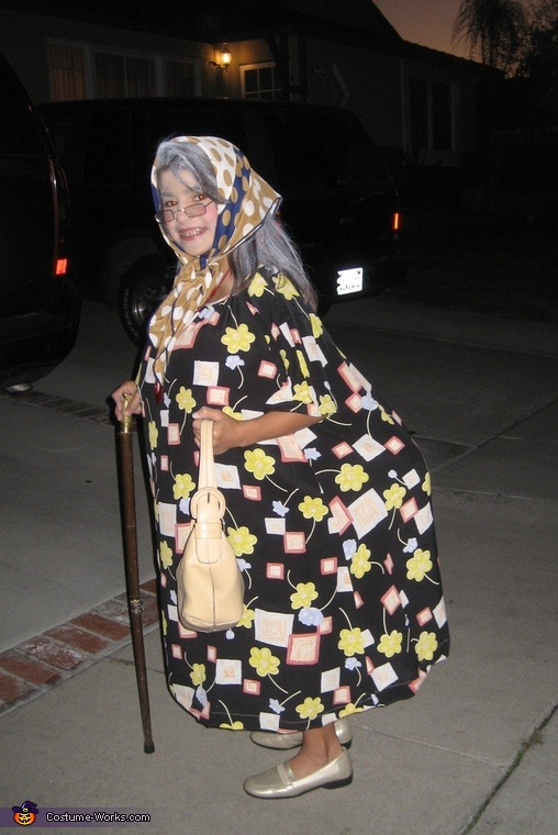 Old Woman Costume