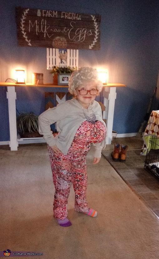 Ole Granny Costume