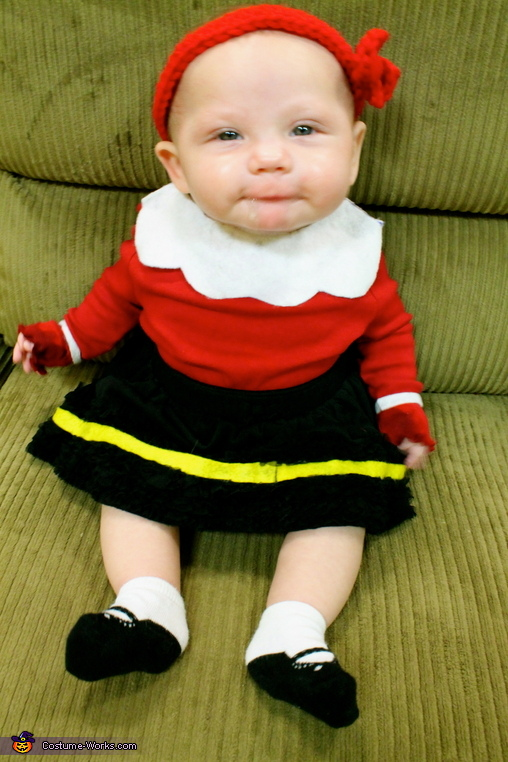 Olive Oyl Baby Costume