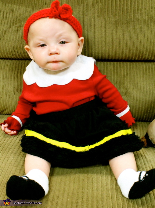 Little Baby Olive Oil, Olive Oyl Baby Costume
