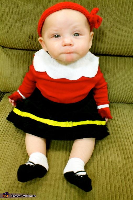 Popeye's my hero!, Olive Oyl Baby Costume