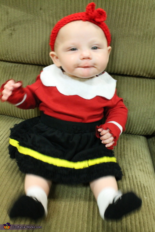 Happy Little Olive Oil, Olive Oyl Baby Costume