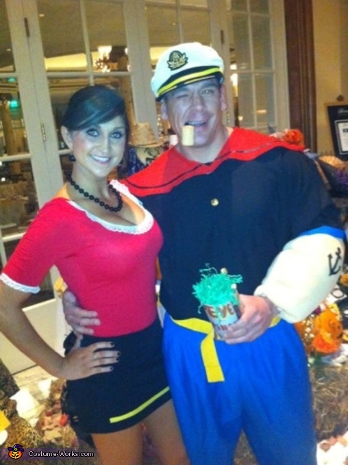 olive oyl and popeye costume