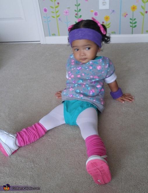 Olivia John Newton Baby Costume