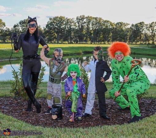 On a Bat Hunt Costume