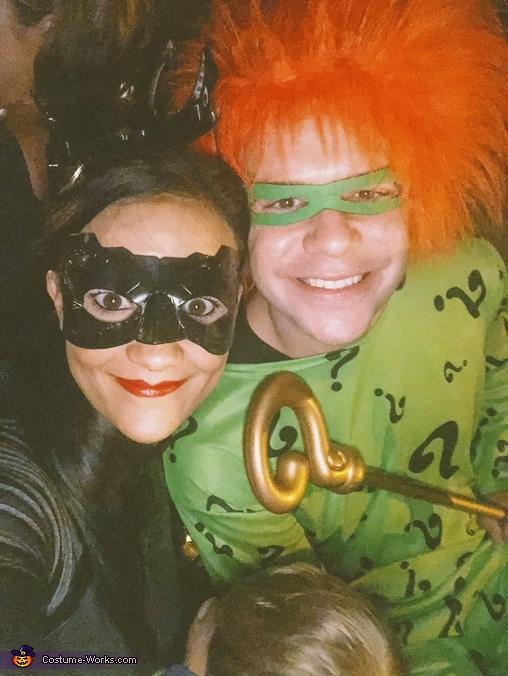 The Villain Parents :), On a Bat Hunt Costume