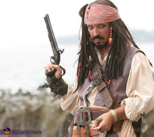 Captain Jack Sparrow - Homemade costumes for men