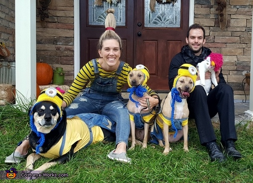 One Despicable Family Costume