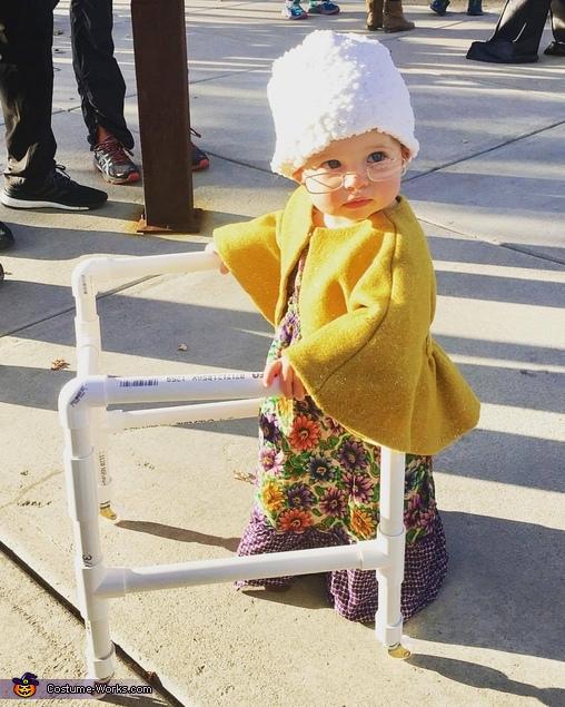 Cutest 1 year old Grannie Costume