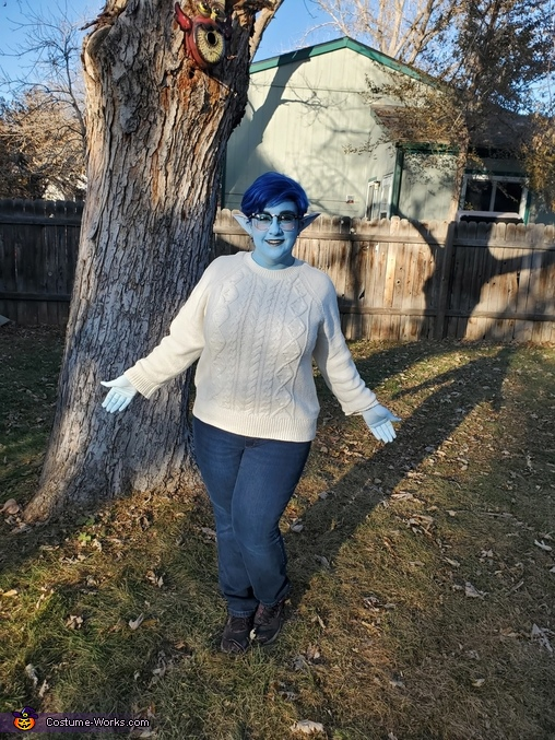 Laurel full costume, Onward - Laurel and Wilden Lightfoot Costume
