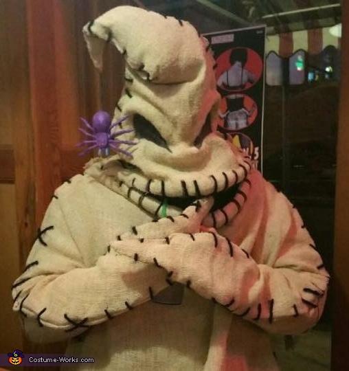 Oogie Boogie Homemade Costume