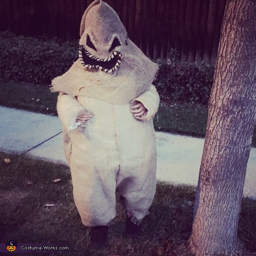 Oogie Boogie Homemade Costume