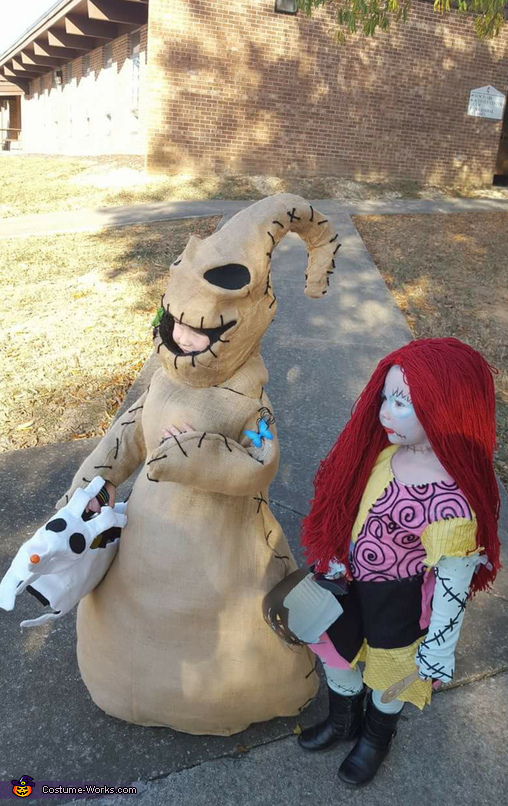 Oogie boogie and Sally Homemade Costume