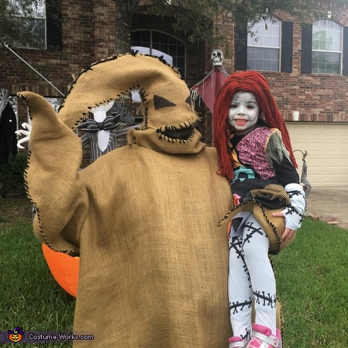 Oogie Boogie and Sally Costume