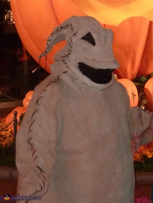 A closer look :-), Oogie Boogie Costume