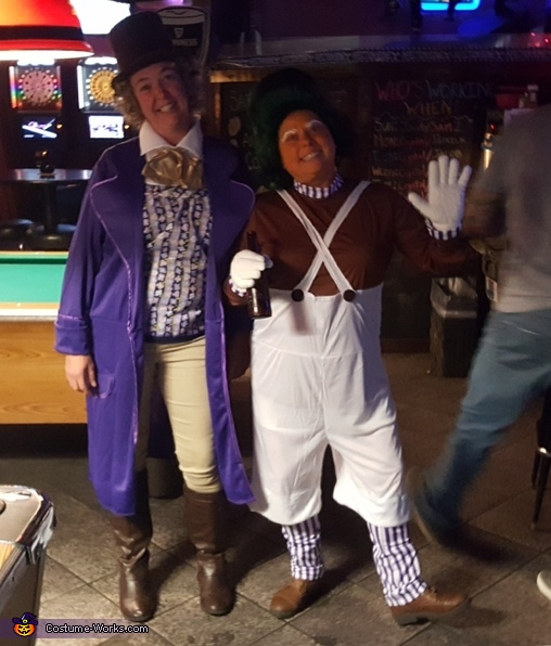 Oompa and Willy Costume