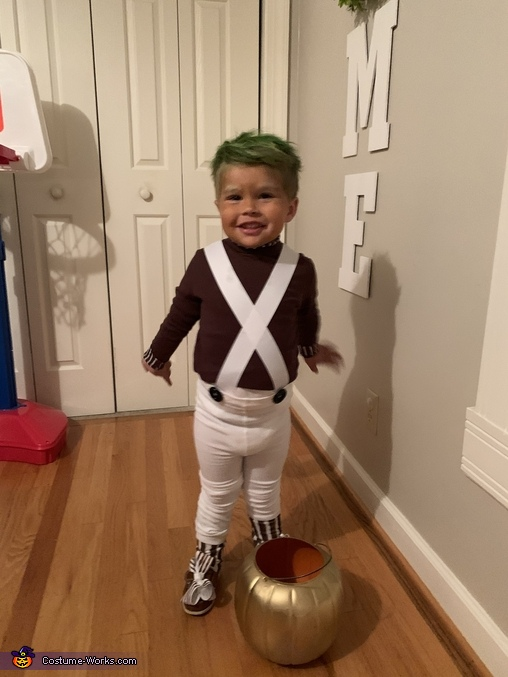 """Look at me!"", Oompa Loompa Costume"