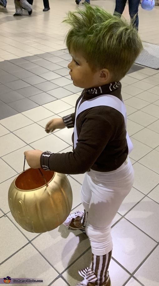 My first trick or treat!, Oompa Loompa Costume