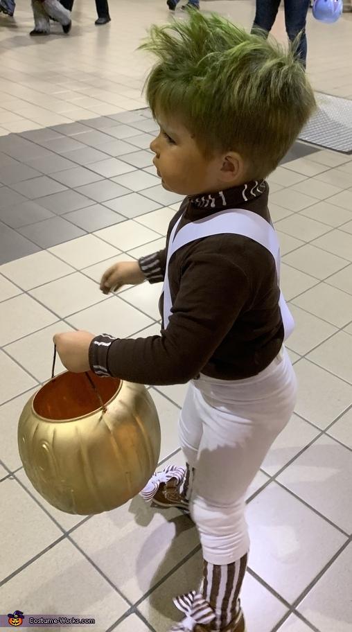My first trick or treat!, Oompa Loompa Costume