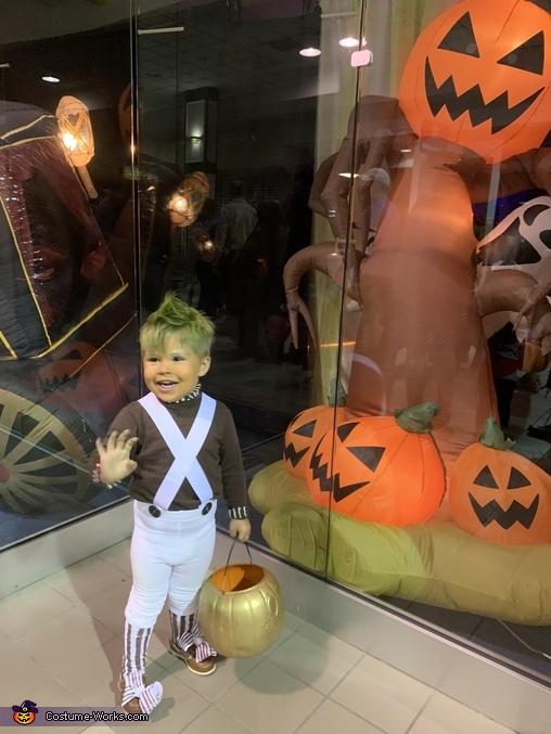 Hi guys!, Oompa Loompa Costume