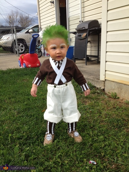 Oompa Loompa Costume  sc 1 st  Costume Works & Oompa Loompa Costume for a Baby