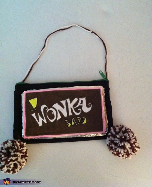 Wonka bar bag, Oompa Loompa Costume