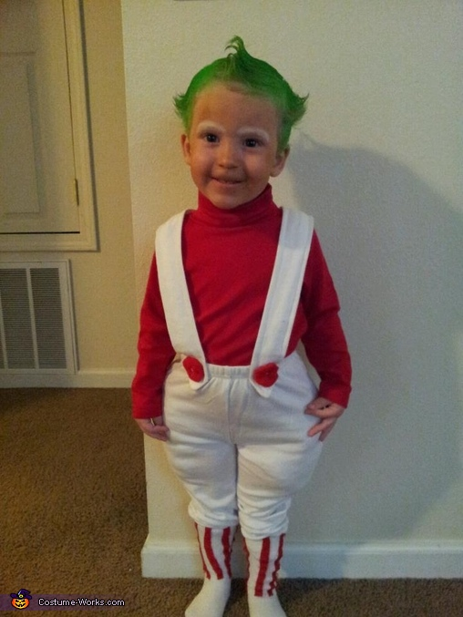 Toddler Oompa Loompa Costume