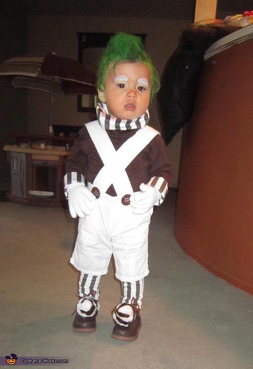 oompa loompa baby costume - Oompa Loompa Halloween