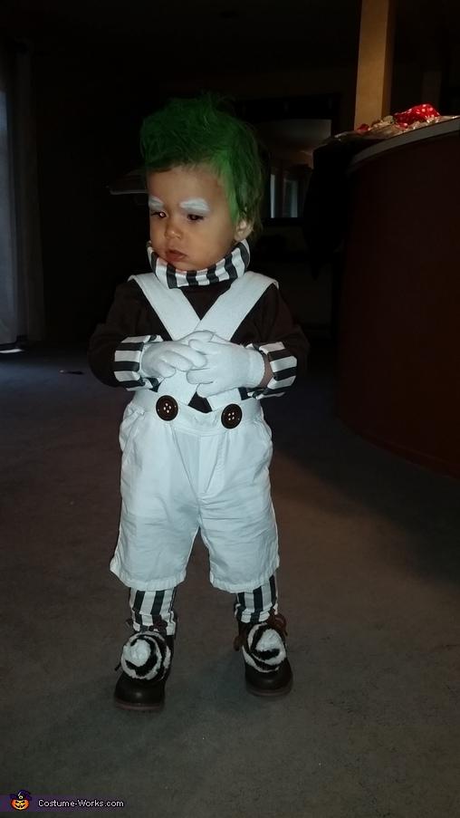 Oompa Loompa Baby Halloween Costume