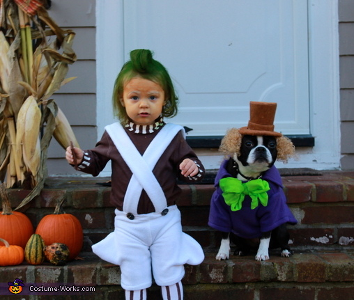 Baby Oompa Loompa Costume  sc 1 st  Costume Works & Oompa Loompa - DIY Baby Costume