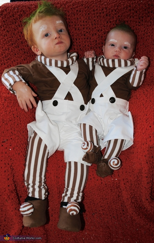 Oompa Loompa Siblings Costume
