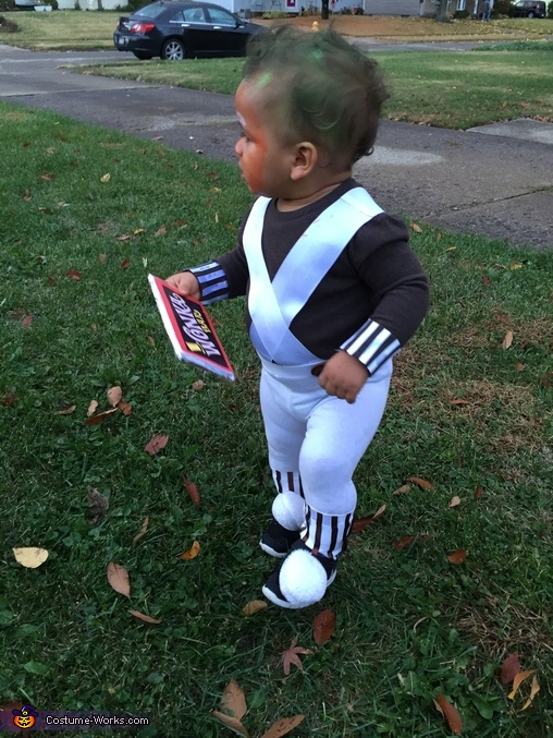 Oompa Loompa Baby Costume DIY